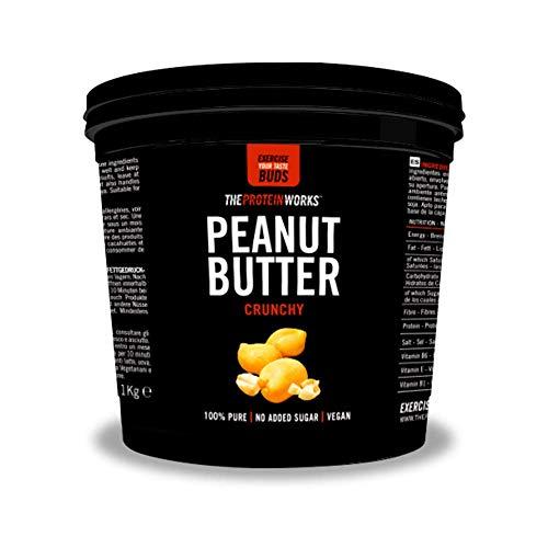 The Protein Works Burro Di Arachidi, Super Croccante, 1kg