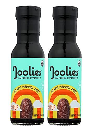Joolies Organic Medjool Date Syrup   Original, 2 Pack   Made with Fresh California Grown Fruit   Vegan, Gluten-Free, Paleo, No Sugar Added   Low Glycemic Breakfast, Baking & Dessert Topping