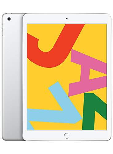 Apple iPad (10.2-inch, Wi-Fi, 128GB) - Silver (Latest Model)