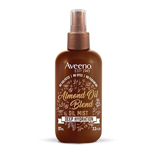 Aveeno Deep Hydration Almond Oil Anti-Frizz Hair...