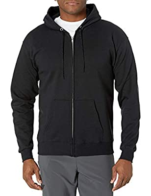 7.8 ounce fleece sweatshirt made with up to 5 percent polyester created from recycled plastic Double-needle cover-seamed neck and armholes stays strong Pill-resistant fabric with high-stitch density for durability Ribbed waistband and cuffs for a com...