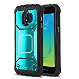 Phone Case for [Samsung Galaxy J2 Shine / J2 Dash (AT&T)], [Alloy Series][Blue] Aluminium Metal Plate [Military Grade] Heavy Duty Shockproof Cover for Galaxy J2 Shine / J2 Dash (AT&T Prepaid)