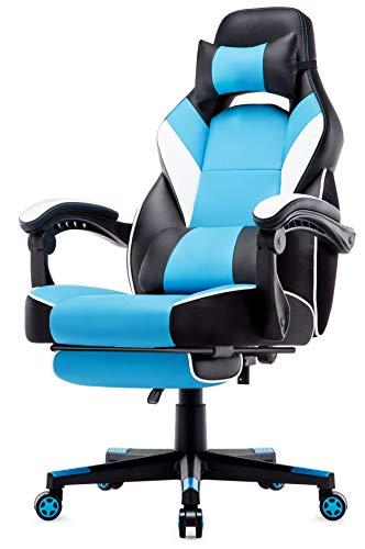 IntimaTe WM Heart Sedia Gaming con la Schienale Alta, Sedia da Gioco ergonomica, Sedia Girevole in...