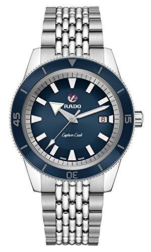 Rado Captain Cook Herren-Armbanduhr 42mm Armband Edelstahl Automatik R32505203