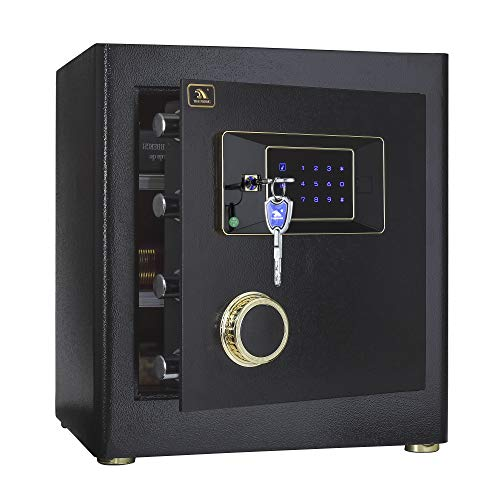 Tigerking BGX-D1-43JJD Safe Box 1.4 Cubic Feet Black