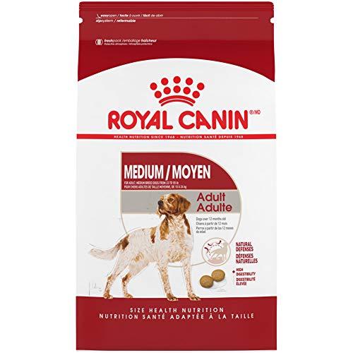 Royal Canin Medium Breed Adult Dry Dog Food, 30 pounds. Bag