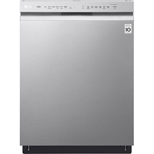 LG LDF5545ST Front Control Dishwasher with QuadWash and...