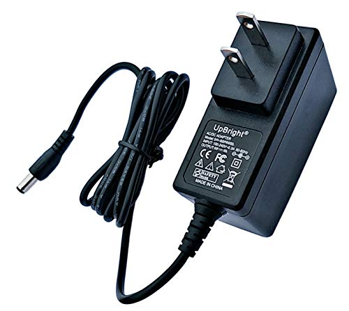UpBright 12V AC/DC Adapter Compatible with SUNUV 24W SUN9C SUN9S SUN 9C SUN 9 C 9S SUN 9 S LED UV LEDUV UVLED UV-LED 2 in 1 double light source nail lamp Gel Dryer DC12V 1A 1.5A Power Supply (NOT 24V)