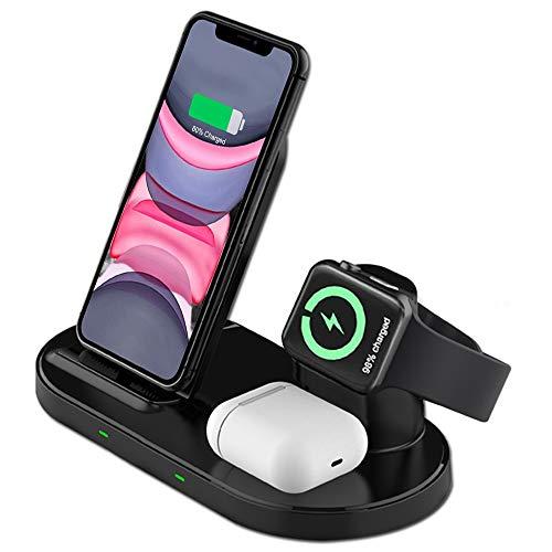 Supporto Caricatore Wireless 3 in 1 per Apple...