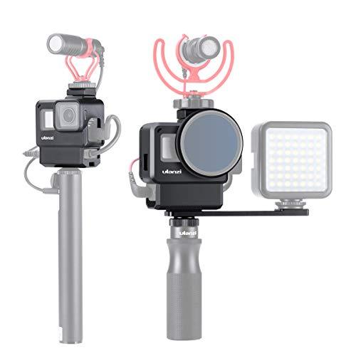 ULANZI V2 Pro Custodia Vlogging per Gopro, Vlog Setup Custodia Telaio Shell Cage per Gopro HERO 7 6 5 Action Camera Accessori