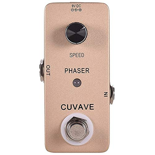 Guitar Effect Pedal PHASER Analog Phase Guitar Effect Pedal Zinc Alloy Shell True Bypass