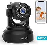 Caméra IP WiFi, ieGeek 1080P HD Caméra de Surveillance D'intérieur sans...