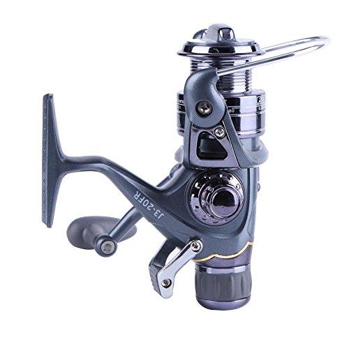 Starnearby STAR Earby Mulinello spinnrollen Mulinello per la pesca alla carpa mulinello anteriore e posteriore in fibra di carbonio drag 3BB Metal Reel, 20RF, 240.00 * 220.00 * 55.00