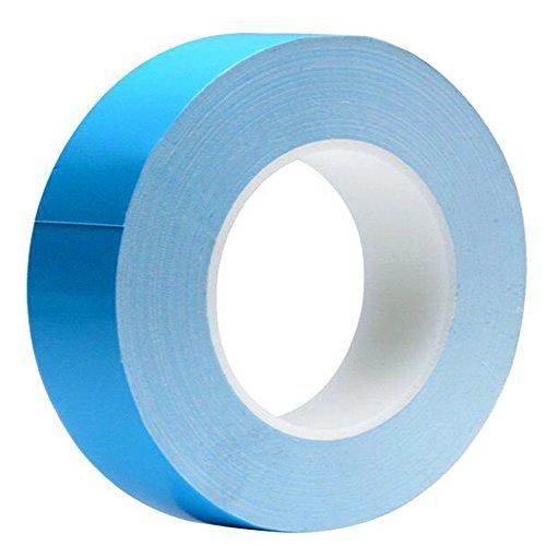 Tuloka 熱伝導テープ ヒートシンクの固定 LED基板の熱拡散用 30mm幅 25m長さ
