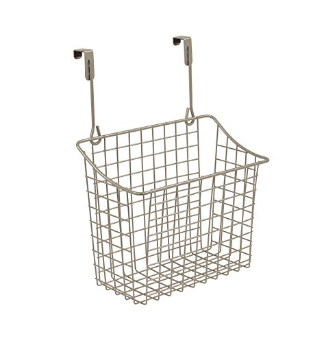 Spectrum Diversified Grid Storage Basket, Over the Cabinet, Steel...