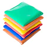 US Toy - Dozen Assorted 3.5' Bean Bags for Games