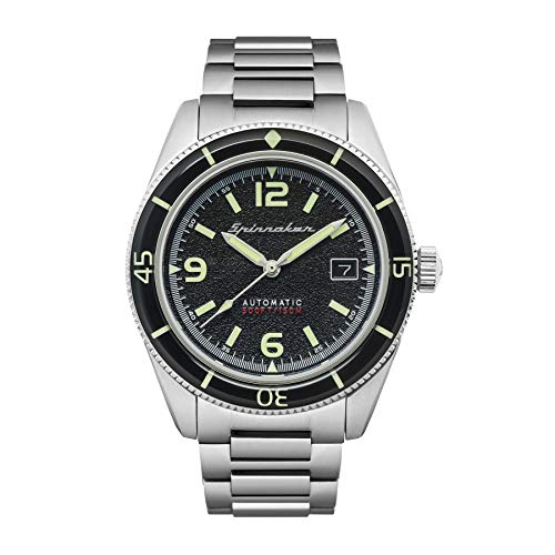 Spinnaker Herren Automatik Armbanduhr mit Edelstahlband - Fleuss SP-5055-44