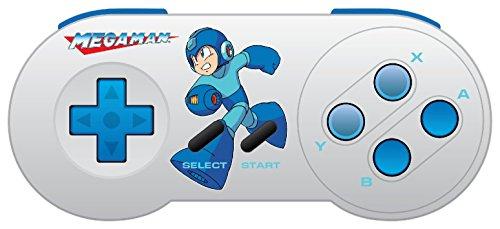 Controle Retro-bit Super Nintendo Mega Man Edição Especial