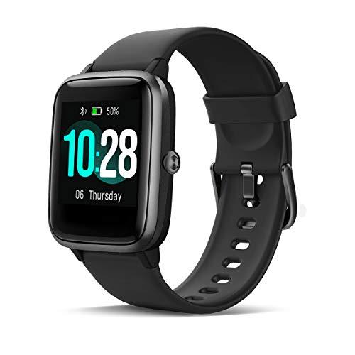 HOMVILLA IP68 Activity Tracker, Orologio Uomo, 1.3 LCD Smartwatch Fitness Tracker Impermeabile con Cardiofrequenzimetro Pedometro Cronometro di Monitor del Sonno per Uomo Donna