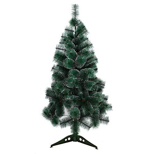 TRACYC Árbol de Navidad Artificial Arboles C/Soporte Incluido Abeto 60-210 cm - Verde - Fácil Montaje - Incluye Caja de Embalaje(90cm
