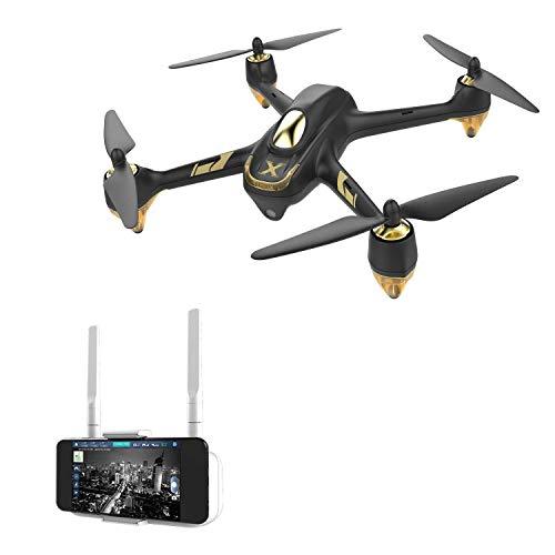 HUBSAN H501A X4 Brushless Droni GPS 1080P HD Fotocamera 5.8 GHz FPV WiFi e 2.4 GHz RC Quadricottero App Controllo con HT005 Rel