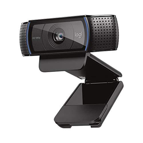 ロジクール ウェブカメラ C920n ブラック フルHD 1080P ウェブカム ストリーミング 自動フォーカス ステレ...