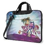 IUBBKI - Maletines para laptops, Bolso Anime Sonic, 13 Pulgadas, Bolsa para Laptop con Correa para el Hombro, Bolsa para notebooks, Documentos y útiles Escolares