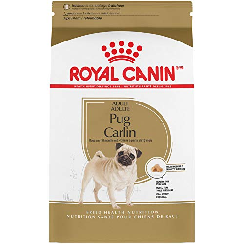 Royal Canin Pug Adult Breed Specific Dry Dog Food,...
