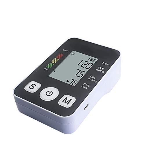 DSYYF Monitor elettronici elettronici Ricaricabili USB per la Pressione sanguigna con Display a LED...