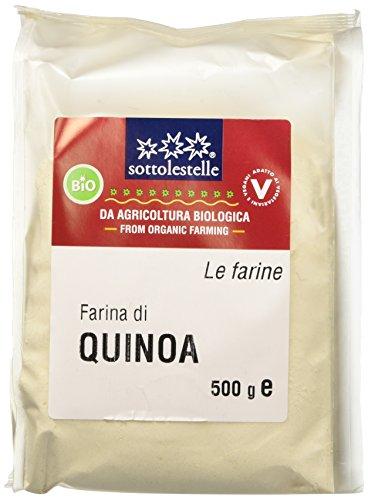 Sottolestelle Farina di Quinoa - 6 confezioni da 500gr - Totale  3 kg
