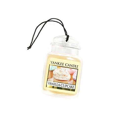YANKEE CANDLE Vanilla Cupcake Car Jar Ultimate
