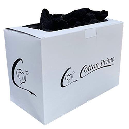 100 x calze da prova in dispenser, 20 denari, nero, taglia unica, per uomo e donna