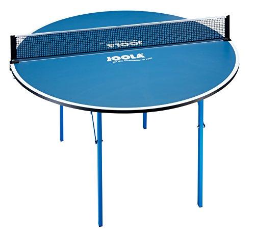 JOOLA Unisex– Erwachsene Round Tischtennisplatte 19125, Blau, 137x76