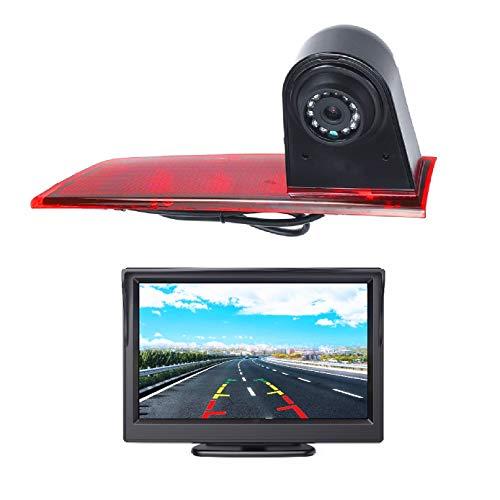 HD 3a luce di freno posteriore telecamera di retromarcia aftermarket + kit monitor LCD da 5,0 pollici per Ford Transit Custom V362 2012-2019