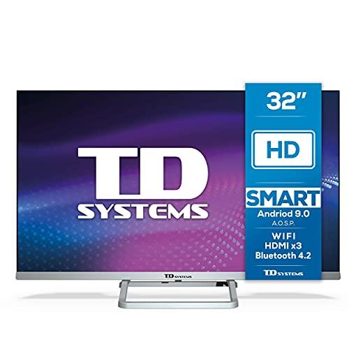 TD Systems K32DLX11HS - Televisor Smart TV 32 Pulgadas Android...
