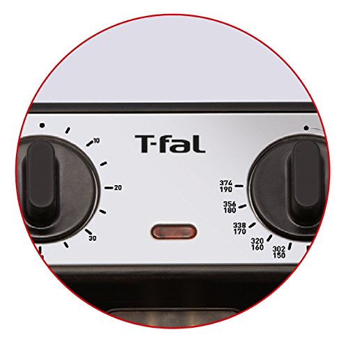 Product Image 1: T-fal FR4049 Family Pro 3-Liter Oil Capacity Electric Deep Fryer with Stainless Steel Waffle, 2.6-Pound, Silver - 7211002482