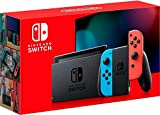 Nintendo Switch with Neon Blue and Neon Red Joy‑Con - HAC-001(-01) (Video Game)