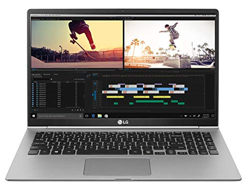 LG Gram Laptop 15Z990 Notebook, Display 15.6' Full HD IPS, Processore i5-8265U, RAM 8 GB DDR4, SSD...