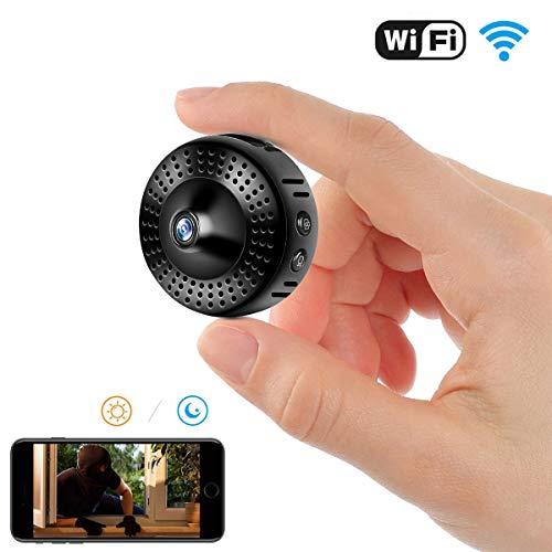 Telecamera spia, telecamera spia WiFi nascosta, telecamera di sorveglianza wireless per la sicurezza domestica con visione notturna, rilevamento del movimento, visione remota.