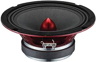 "DS18 PRO-X6BM Loudspeaker – 6.5"", Midrange, Red Aluminum Bullet, 500W Max,.."
