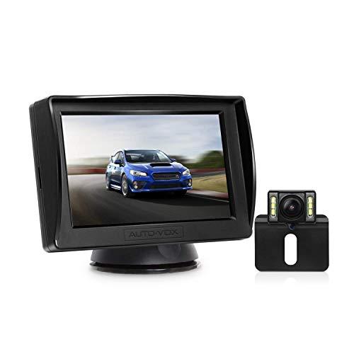 AUTO-VOX M1PRO Rückfahrkamera Set mit 4,3'' TFT LCD Monitor, IP68...