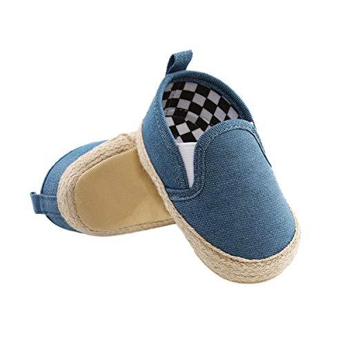 DEBAIJIA Bebé Primeros Pasos Zapatos 0-6M Niños Suave Suel