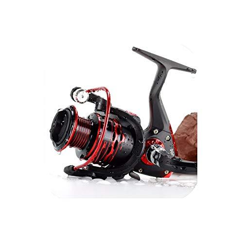 NA Hot Wheels - Mulinello da Pesca 5,5:1, 12 Cuscinetti a Sfera, Serie JX 1000 7000, Colore 146, 1000 Series