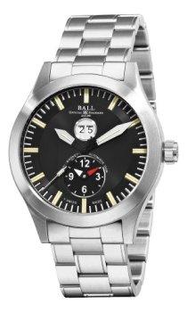 Ball Men's GM2086C-S1-BK Engineer Master II Aviator Black GMT Dial Watch