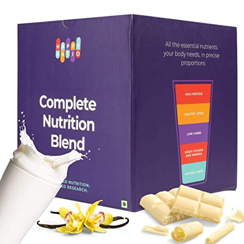 Happy Ratio - The Drink for Complete Nutrition, 1kg (Vanilla, 10 Drinks)