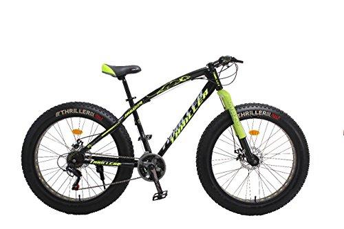THRILLER Jaguar Fat Bike (Black and GREEN0