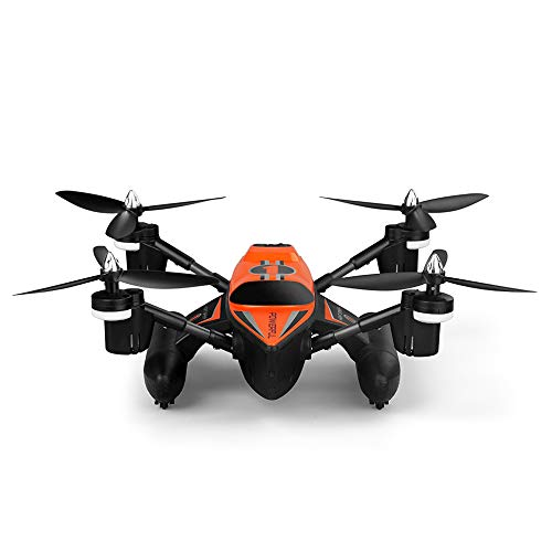 Q353 remoto Drone Land Marine Mode 3 in 1 Impermeabile Headless Mode 2.4g LED Headless Mode Deformation scivolando Quadcopter,Orange