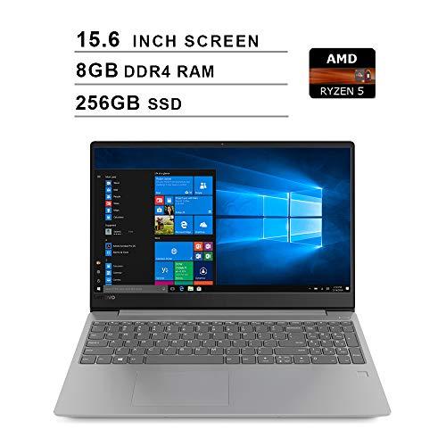 2020 Newest Lenovo Ideapad 330s 15.6 Inch Laptop (AMD Quad-Core Ryzen 5 2500U up to 3.6GHz, 8GB DDR4 RAM, 256GB SSD, AMD Radeon Vega 8, WiFi, Bluetooth, HDMI, Webcam, Windows 10 Home) (Grey)