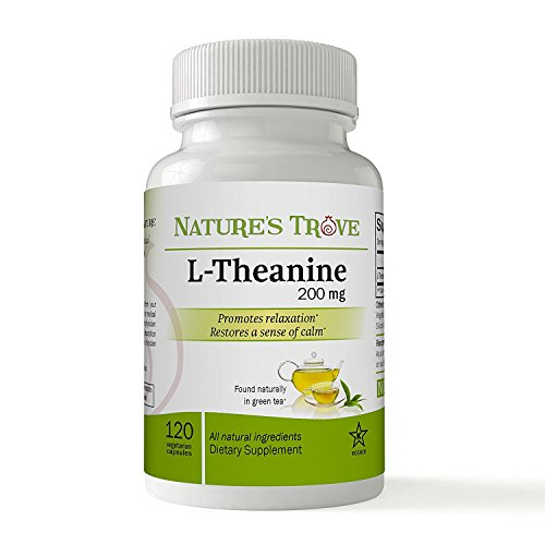 Nature Trove L-Theanine 200mg - 120 capsule vegetariane