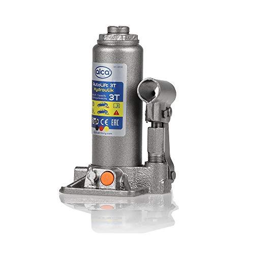 alca® Wagenheber Unterstellheber hydraulisch 5t Stempel-Wagenheber für SUV/PKW Hubhöhe 19,7-38,2cm